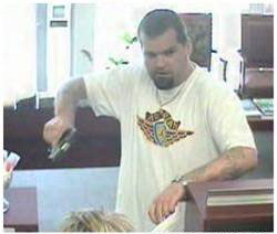 Southeast Serial Bank Robbery Suspect, Photo 8 of 10 (8/24/09)