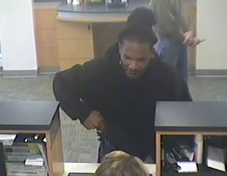 Powder Springs Bank Robbery Suspect, Photo 6 of 12 (10/28/13)
