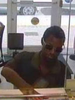 Miami Bank Robbery Suspect, Photo 1 of 2 (6/17/13)