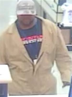 Houston Bank Robbery Suspect, Photo 2 of 4 (2/21/14)