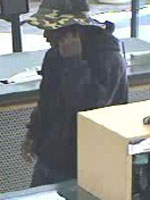 San Diego Bank Robbery Suspect, Photo 2 of 4 (3/15/13)