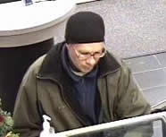 Littleton Bank Robbery Suspect, Photo 1 of 2 (12/19/09)