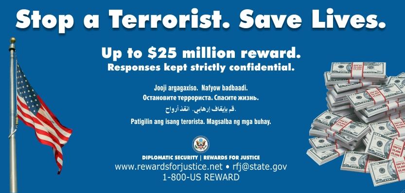 Seattle Anti-Terrorism Campaign Billboard (6/4/2013)