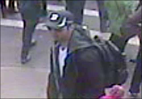 Suspect 1, Semi-Profile View
