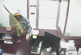 Cosby, Tennessee Bank Robbery Suspect, Photo 1 of 7 (9/27/10)