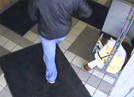Monticello, Indiana Bank Robbery Suspect, Photo 2 of 5 (12/23/10)