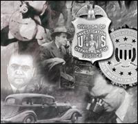 Collage of FBI agents and memorabilia