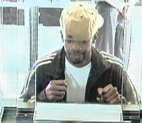 Philadelphia Bank Robbery Suspect, Photo 1 of 4 (7/2/13)