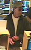Denver Bank Robbery Suspect, Photo 2 of 3 (12/14/09)