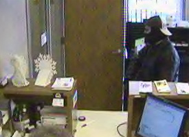 Monticello, Indiana Bank Robbery Suspect, Photo 5 of 5 (12/23/10)