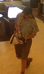 Seattle Division Bank Robbery Suspect, Photo 1 of 6 (11/6/12)