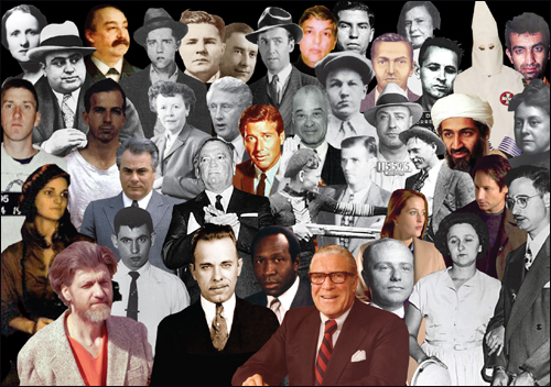 famous faces collage