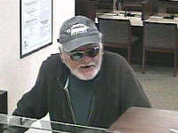 Ft. Lauderdale, Florida Bank Robbery Suspect, Photo 1 of 5 (2/5/14)
