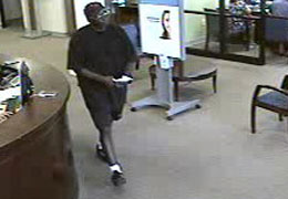 Bellaire, Texas Bank Robbery Suspect, Photo 3 of 4 (9/7/10)