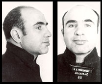 Al Capone mug shot photos