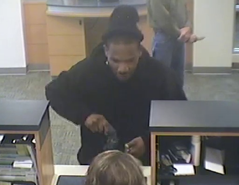Powder Springs Bank Robbery Suspect, Photo 7 of 12 (10/28/13)