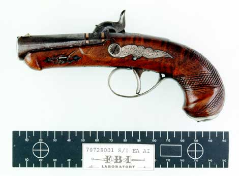 Figure 6. The Booth Deringer Pistol, Left Side