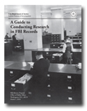 Cover of A Guide to Conducting Research in FBI Records