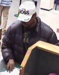 Oklahoma City Bank Robbery Suspect, Photo 4 of 5 (2/14/13)
