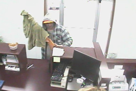 Cosby, Tennessee Bank Robbery Suspect, Photo 3 of 7 (9/27/10)