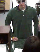 I-55 Bandit Serial Bank Robbery Suspect, Photo 3 of 11 (9/10/13)