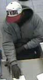 San Diego Bank Robbery Suspect, Photo 4 of 6 (1/10/13)