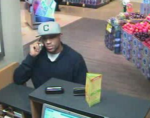 Suspect in San Diego Bank Robbery (8/5/13)