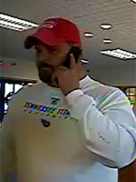 bank robbery suspect