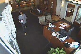 Albuquerque bank robbery suspect, Lobo Hat Bandit (3/10/09)