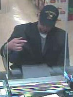San Diego Bank Robbery Suspect, Photo 4 of 5 (11/27/12)