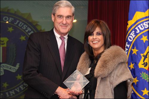 Director Mueller and Devorah Halberstam
