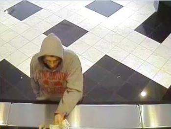 Philadelphia Bank Robbery Suspect, Photo 4 of 5 (11/12/13)
