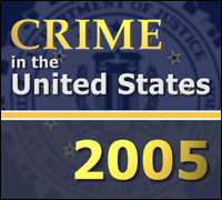 Crime in the U.S. 2005 cover