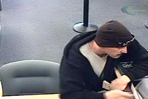 Albuquerque bank robbery suspect (1/12/13)