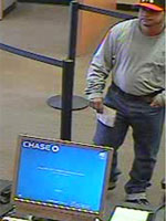 Tri-State Serial Bank Robber, Photo 1 of 3 (10/22/13)