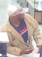 Houston Bank Robbery Suspect, Photo 3 of 4 (2/21/14)