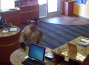 Glendale, Arizona Bank Robbery Suspect, Photo 1 of 5 (9/7/12)