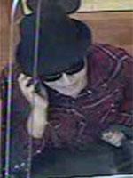 Santa Ana, California Bank Robbery Suspect, Photo 1 of 2 (6/24/13)