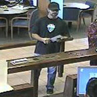 Los Angeles Division Groomed Beard Bandit, Photo 2 of 3 (12/21/10)