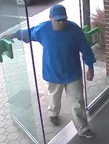 Philadelphia Bank Robbery Suspect, Photo 1 of 5 (6/6/13)