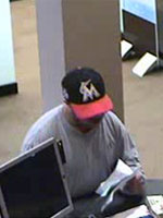 Tri-State Serial Bank Robber, Photo 2 of 3 (10/22/13)