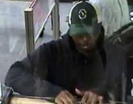 Washington, D.C. Area Bank Robbery Suspect, Photo 3 of 4 (4/17/14)