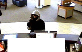San Diego Armed Bank Robbery Suspect, Photo 1 of 6 (11/18/09)