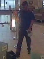 San Diego Bank Robbery Suspect, Photo 2 of 4 (10/29/13)