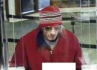 Philadelphia Bank Robbery Suspect, Photo 3 of 4 (2/6/14)