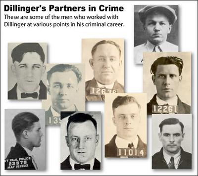 Dillinger's Partners in Crime