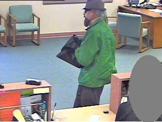 Sacramento Division Fake-Bearded Fedora Bandit, Photo 1 of 4 (4/27/10)