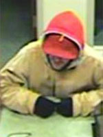 Philadelphia Bank Robbery Suspect, Photo 2 of 2 (12/23/13)