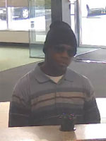 North Miami Beach Bank Robbery Suspect, Photo 2 of 2 (1/4/13)