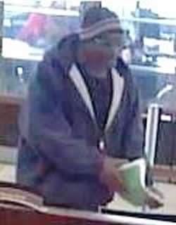 Denver Bank Robbery Suspect, Photo 2 of 2 (4/8/14)